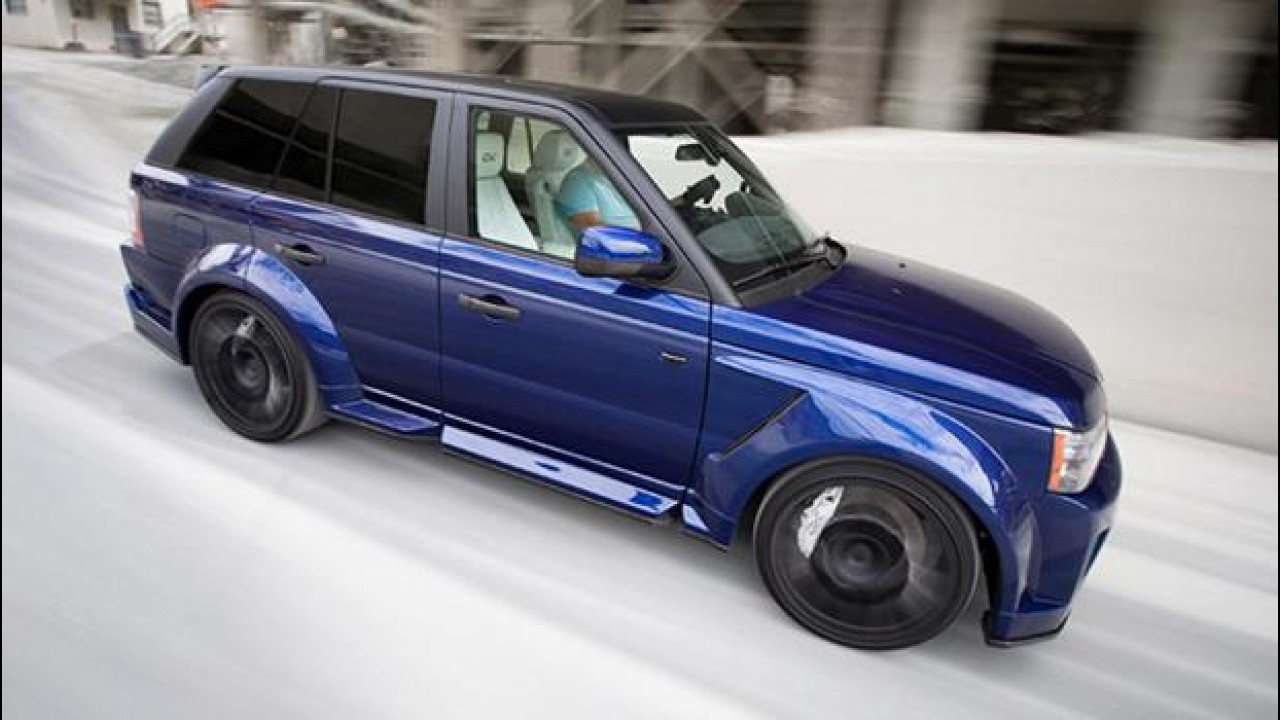 [Copertina] - Range Rover Sport by CDC Performance