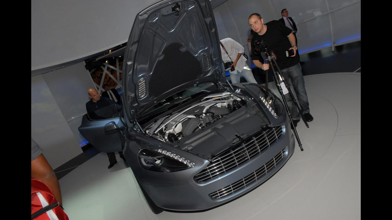 Aston Martin Rapide al Salone di Francoforte 2009