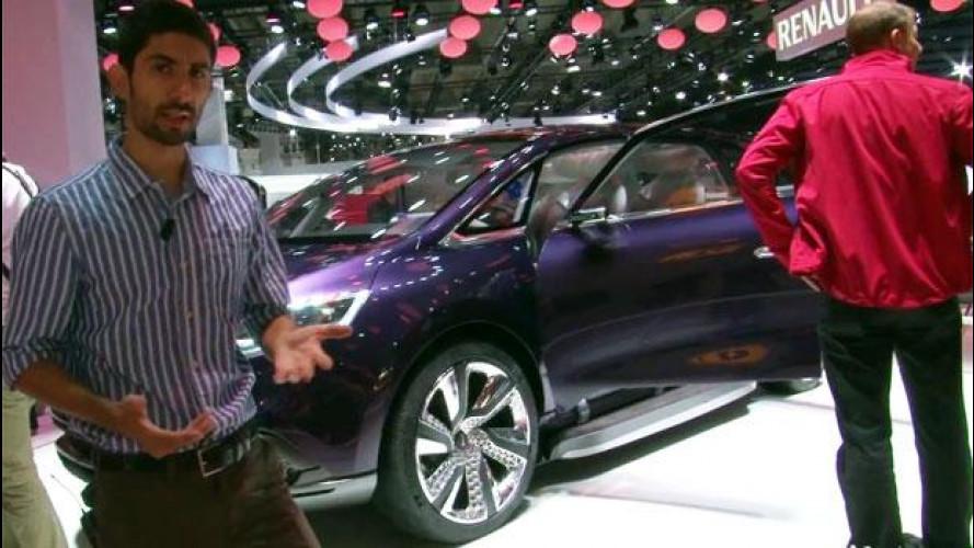 Salone di Francoforte: Renault Initiale Paris, le raffinatezze della prossima Espace SUV [VIDEO]