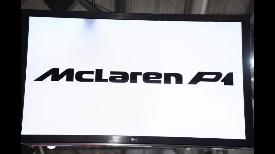 Salone di Ginevra: la McLaren P1 vista dal vivo