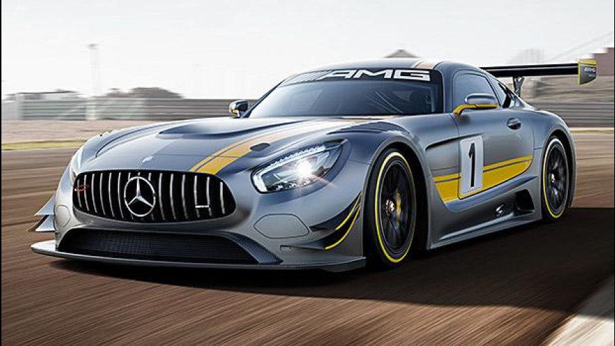Mercedes-AMG GT3, nata per correre