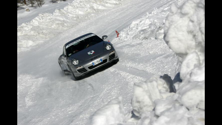 Porsche Sport Driving School Ice: emozioni in quota