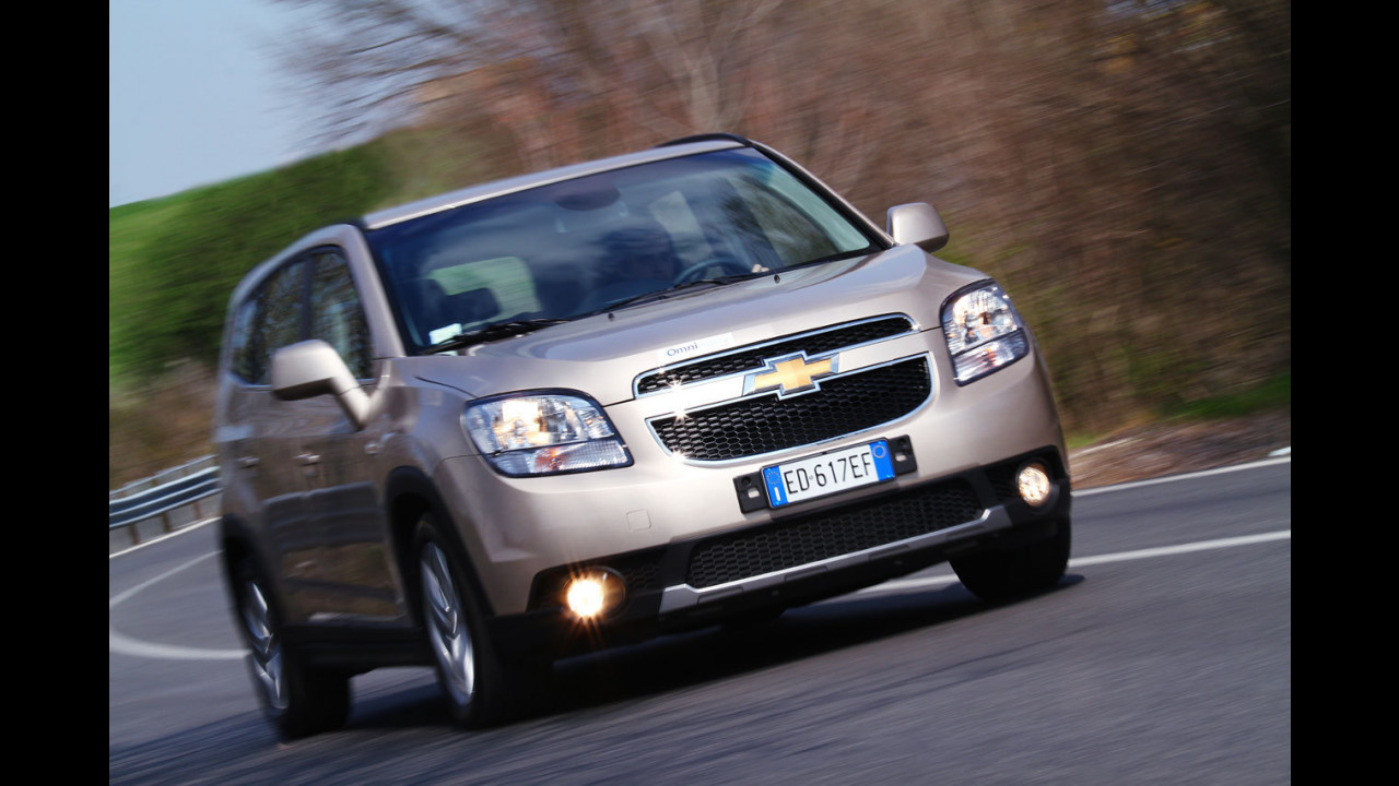 Chevrolet Orlando 2.0D 163CV LTZ - TEST