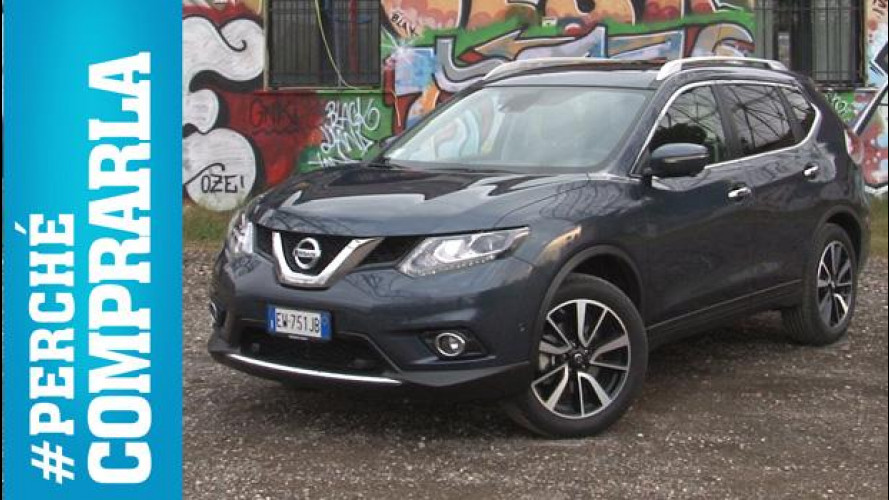 Nissan X-Trail, perché comprarla... e perché no [VIDEO]