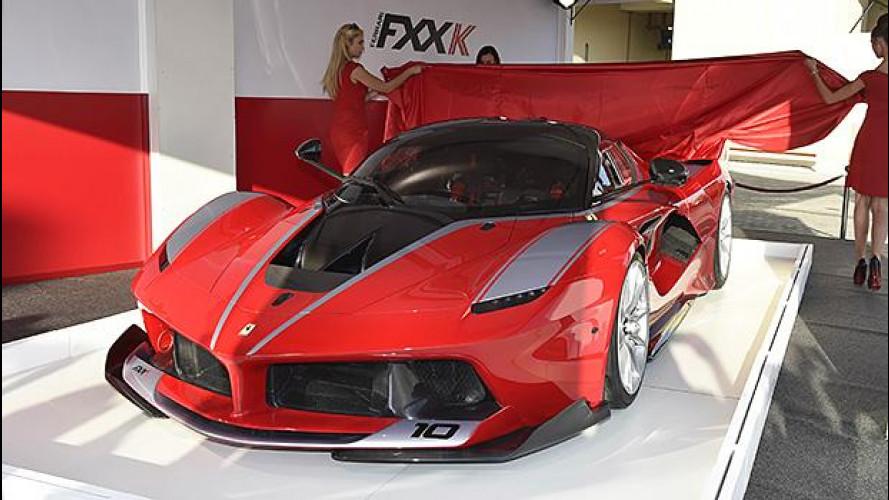 [Copertina] - Ferrari FXX K, tutte vendute a 2,2 mln di euro