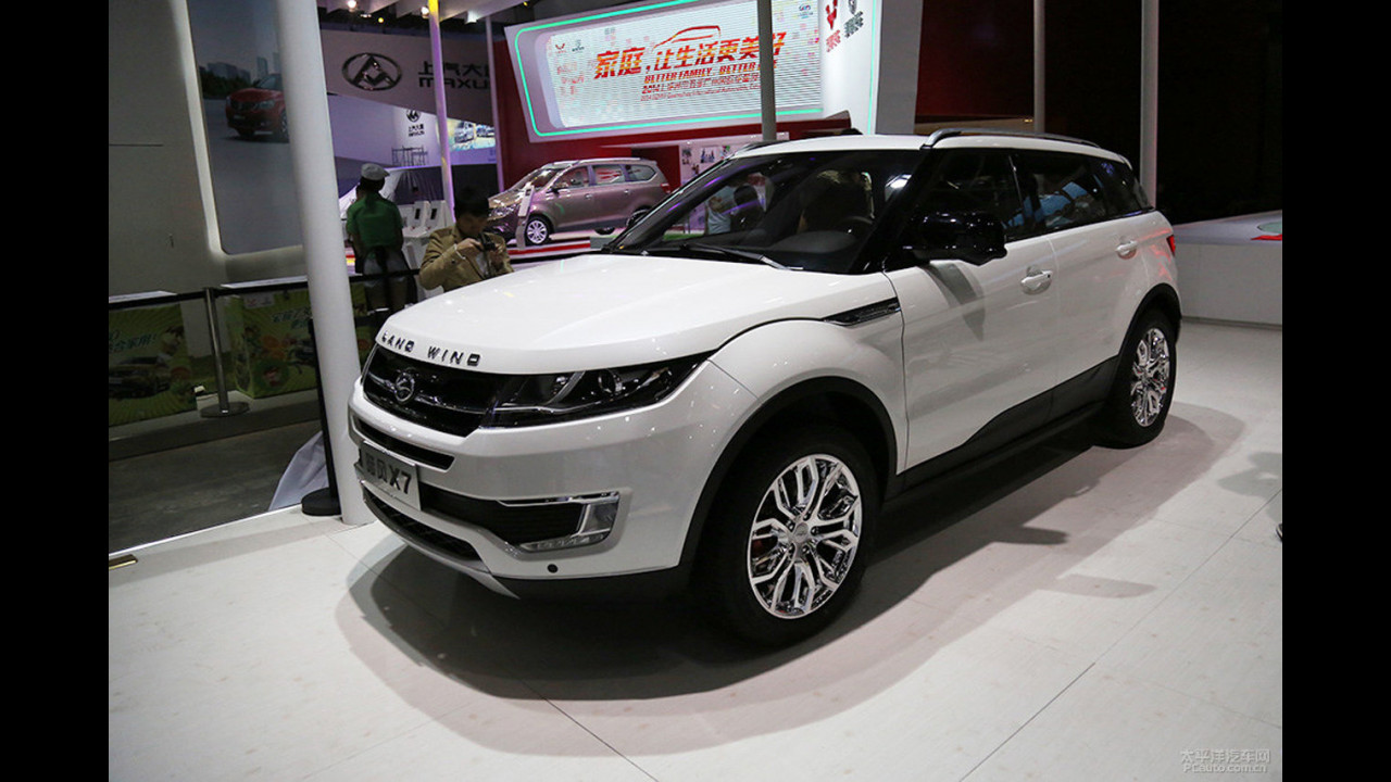 Çinli Land Rover kopyası LandWind X7