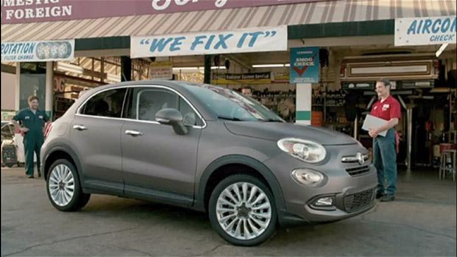 Fiat 500X, sistemala Tony! [VIDEO]