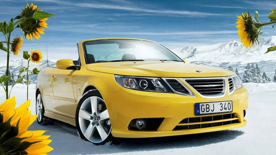 2008 Saab 9-3 Convertible Yellow Edition Returns (US)