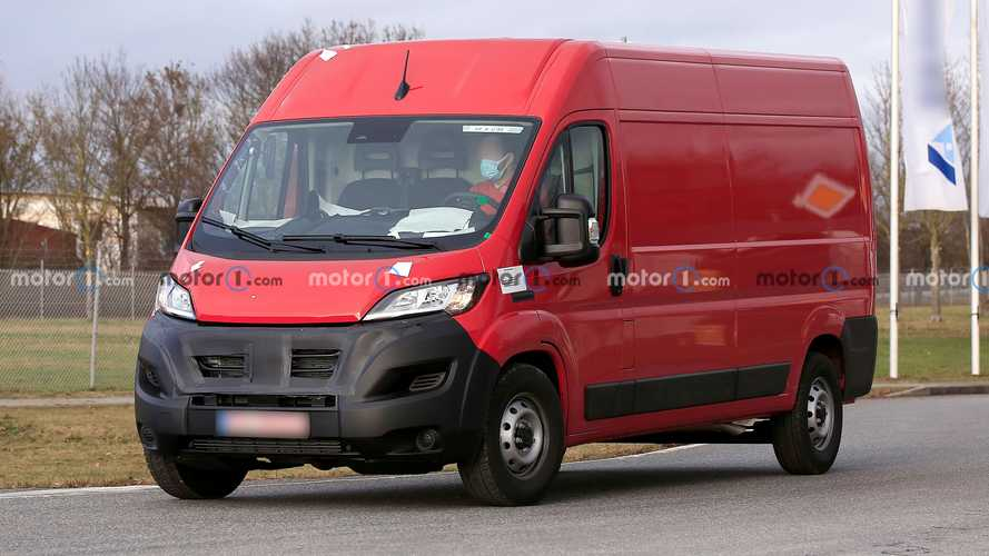 Ram Promaster's European Brother Spied With A Subtle Facelift