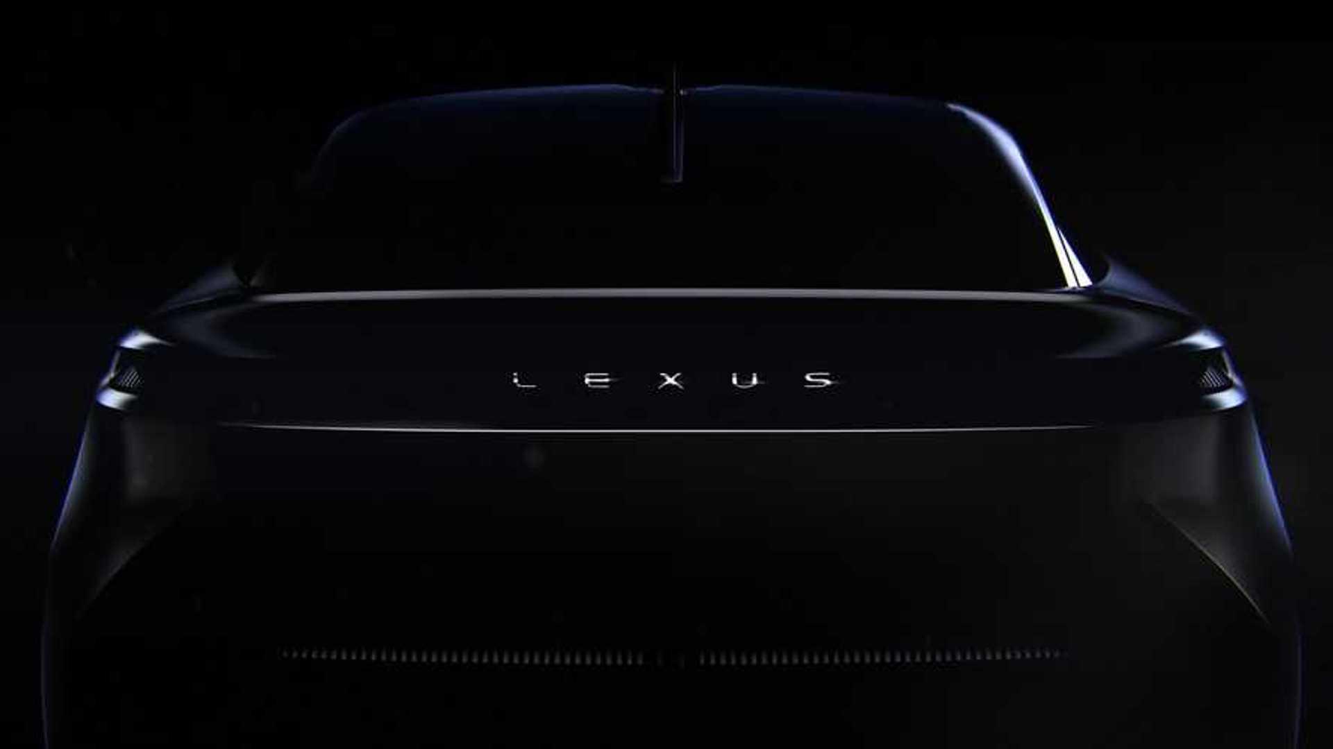 2021 Lexus concept car teasers   Motor1.com Photos