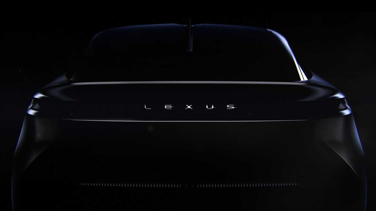 Lexus concept car - teaser