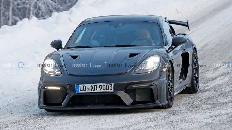 Porsche 718 Cayman GT4 RS photos espion