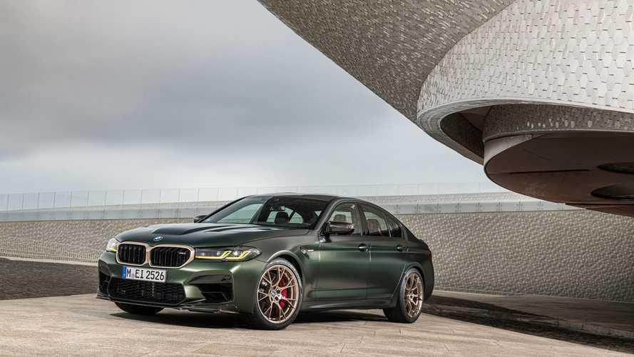 2021 BMW M5 CS, dudak uçuklatan hızlanma süreleri ile geldi