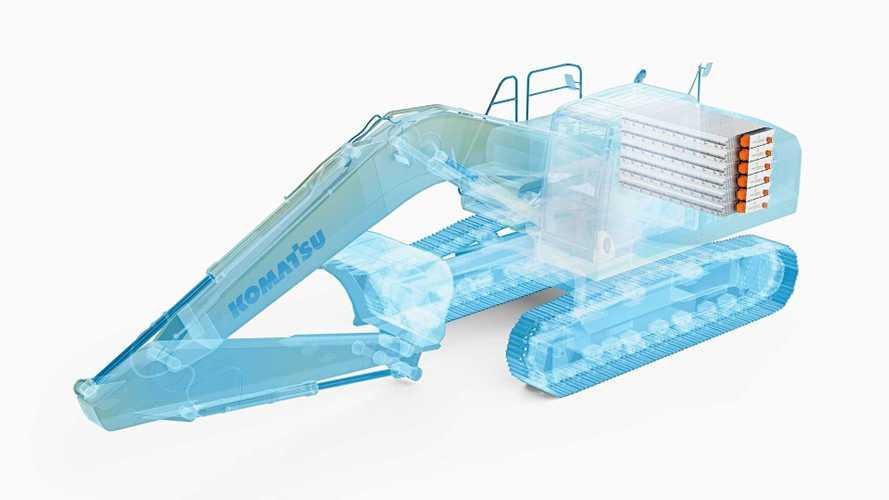 Komatsu Announces Collaboration With Proterra On Electric Excavators