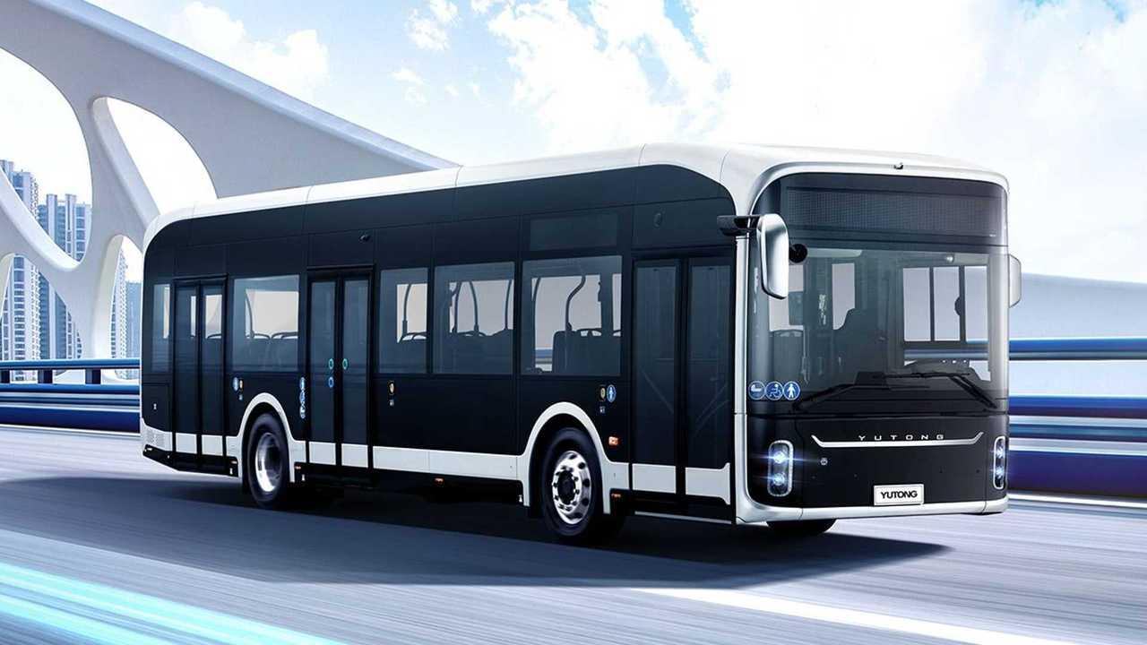 Yutong U12 electric bus