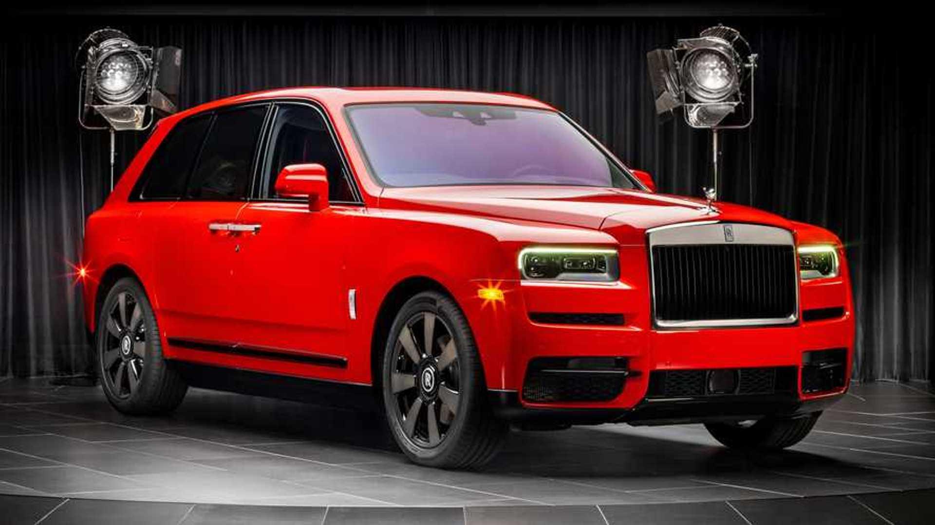 Rolls-Royce Cullinan сияет новыми индивидуальными цветовыми решениями