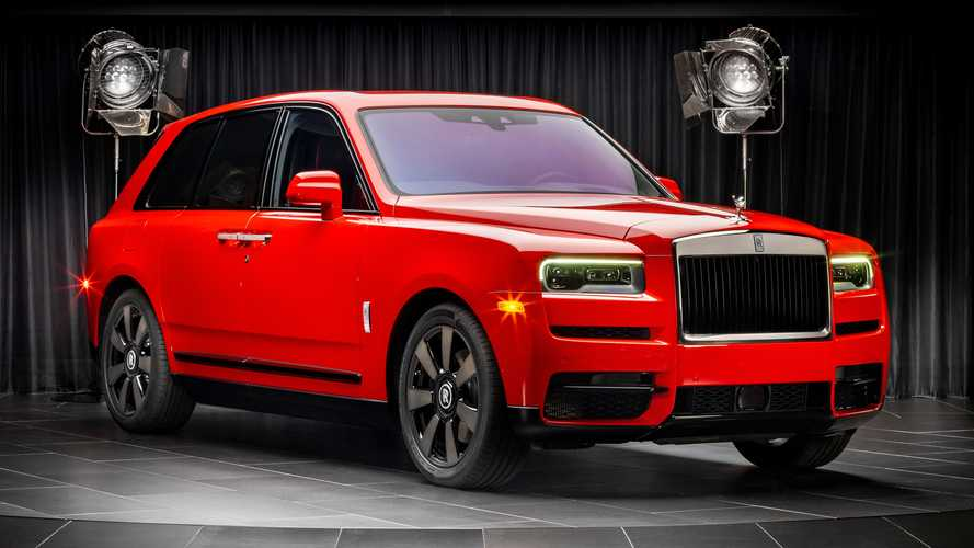 Rolls-Royce Cullinan Shines In New Bespoke Color Options