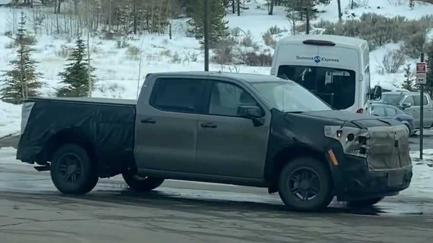 2022 Chevy Silverado Spied During High Altitude Testing