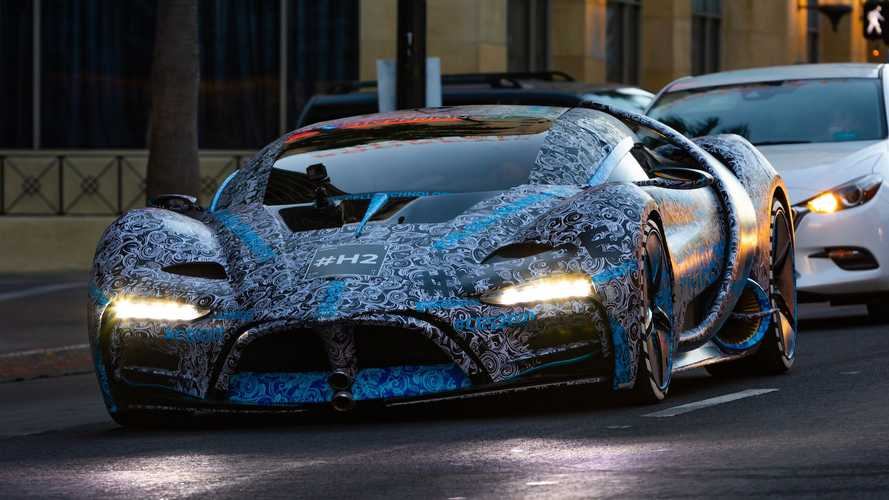 Hyperion's crazy XP-1 hypercar looks even stranger on streets of LA
