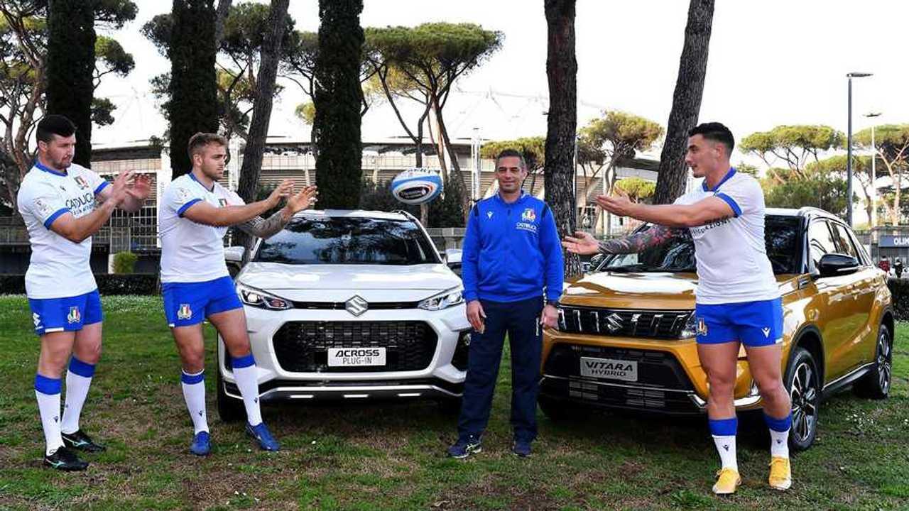 Suzuki e la Nazionale Italiana Rugby