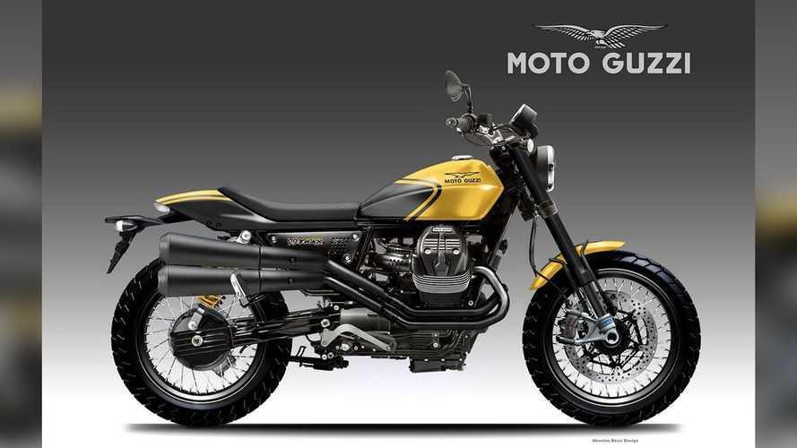 How Cool Would A Moto Guzzi Flat Tracker Be?