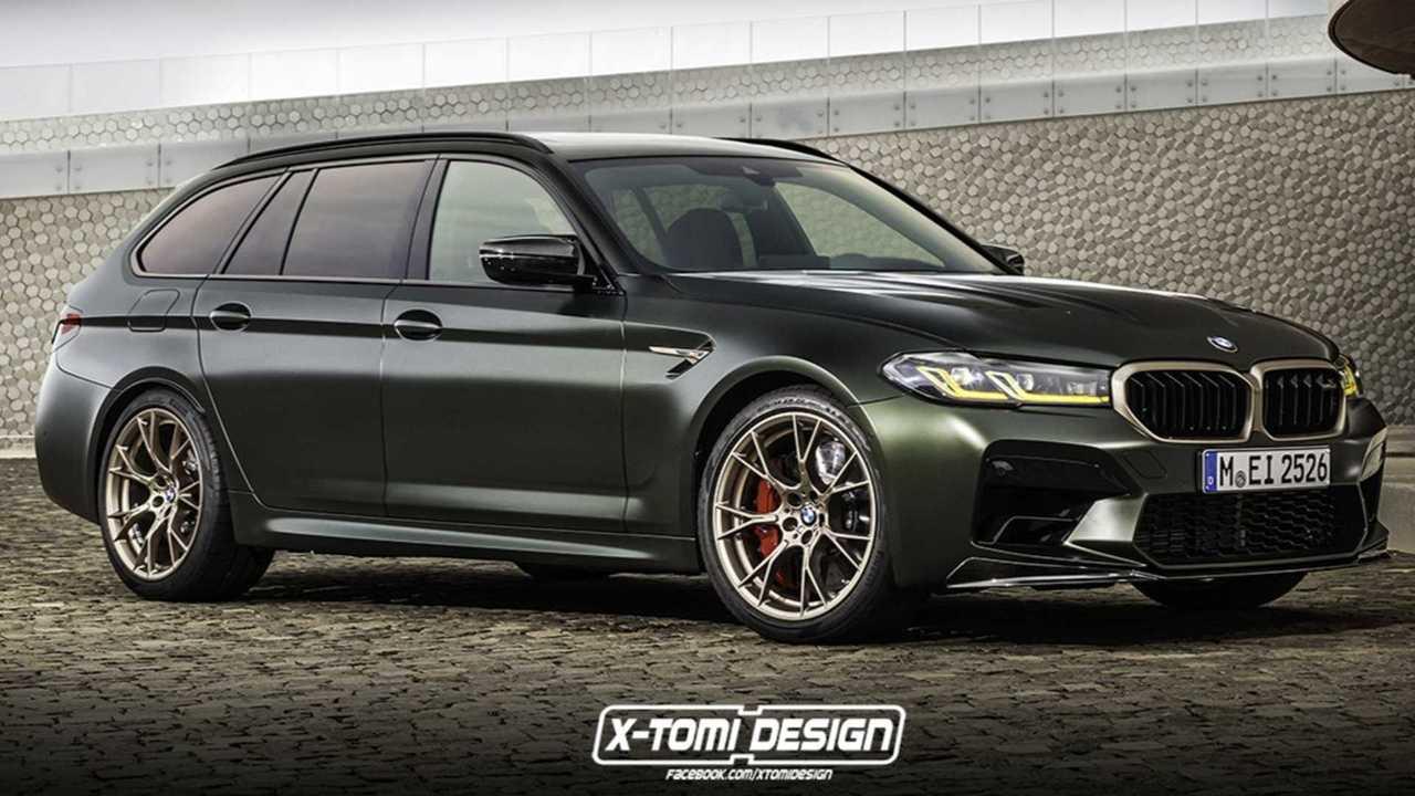 BMW M5 CS Touring Render