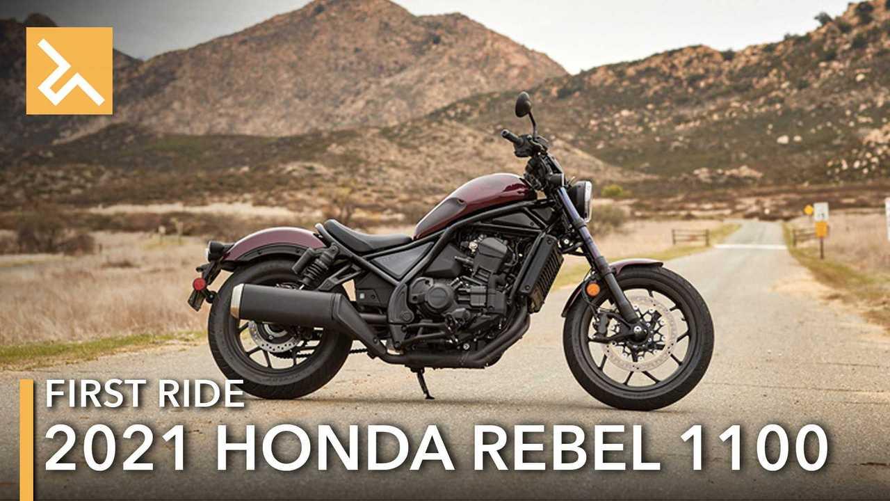 2021 Honda Rebel 1100 Feature