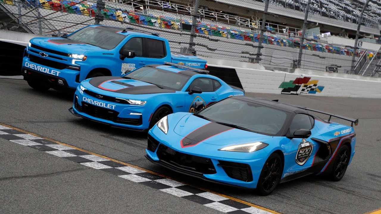 Chevrolet Pace Vehicles 2021 Daytona 500