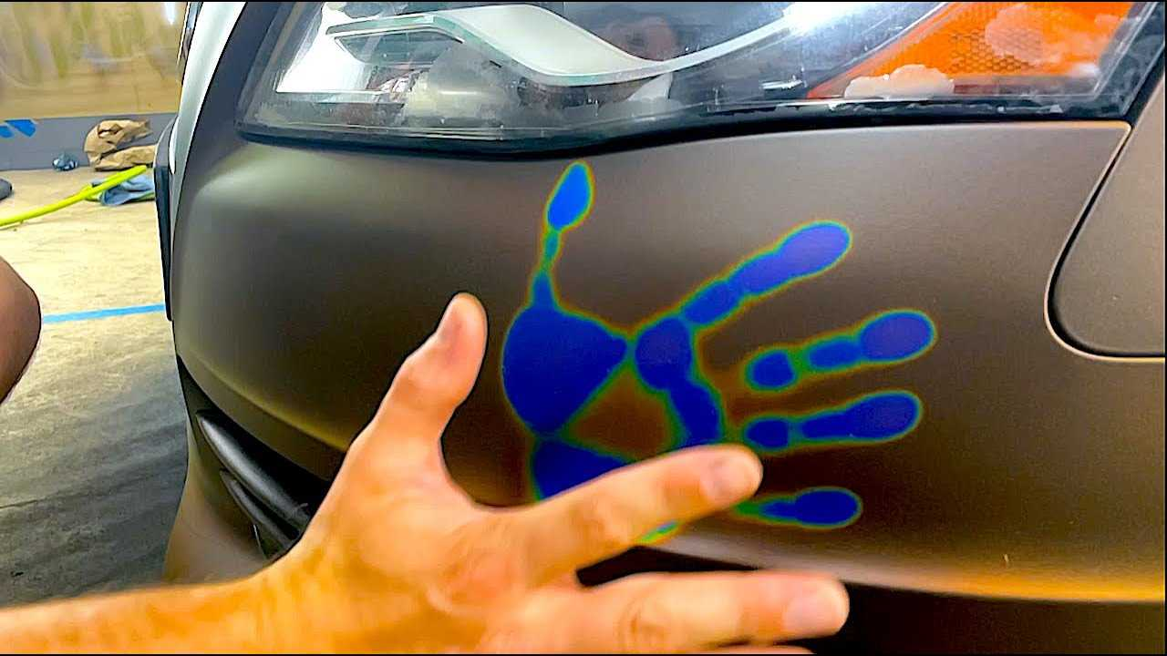 Mood Ring Paint on Audi A4