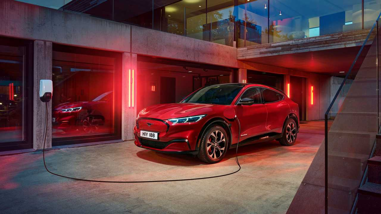 Ford Mustang Mach-E charging in Europe