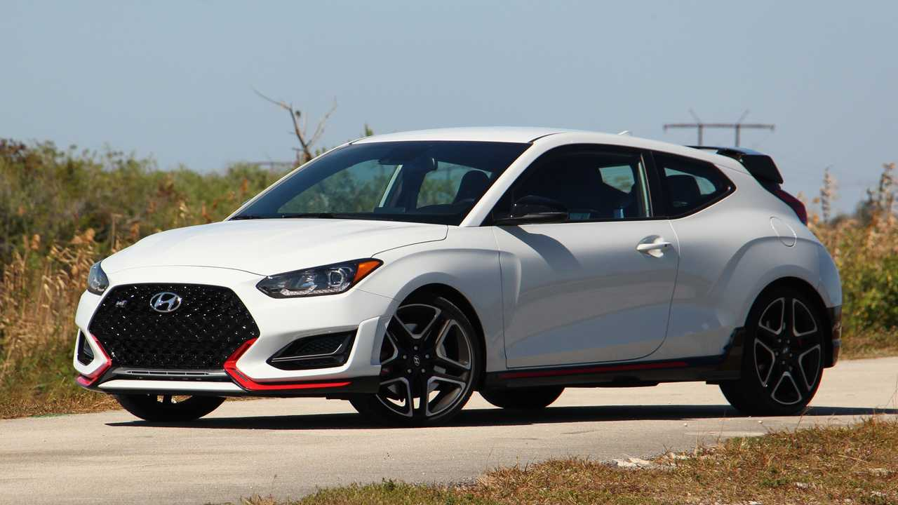 Hyundai Veloster N only trim available for 2022 model year.