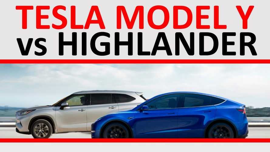 Tesla Model Y Vs Toyota Highlander: Which 7-Seat SUV Is Better? Why?