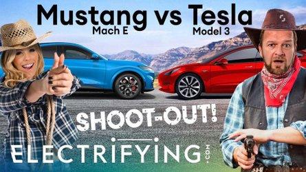 Tesla Model 3 vs Ford Mustang Mach-E: In-depth EV shootout in UK