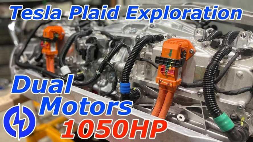 See The Tesla Plaid's Dual-Motor Rear Drive Unit