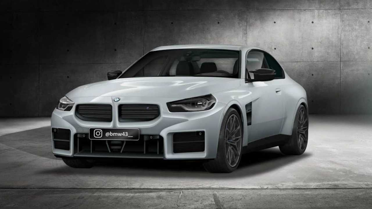 2023 BMW M2 Leaked Bumper Image