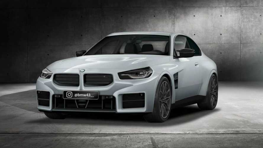2023 BMW M2 front bumper might have leaked already