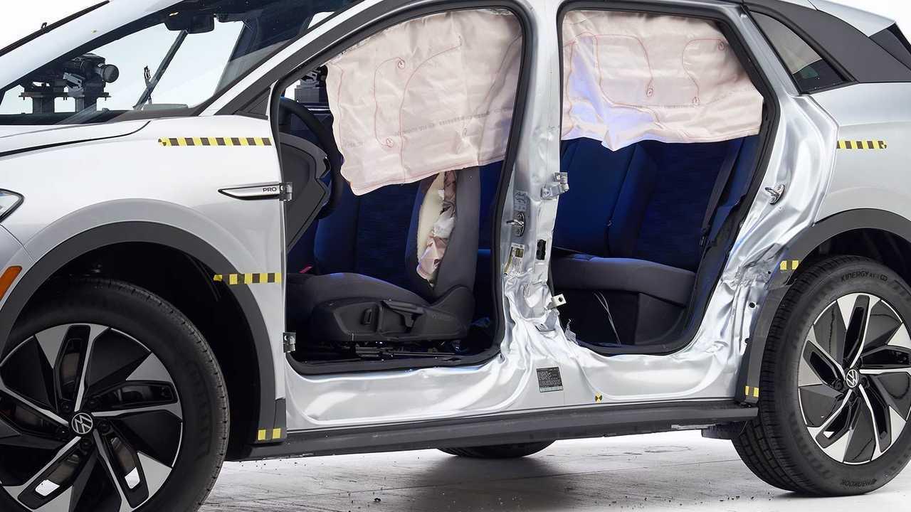 2021 Volkswagen ID.4 IIHS Crash Test: Side