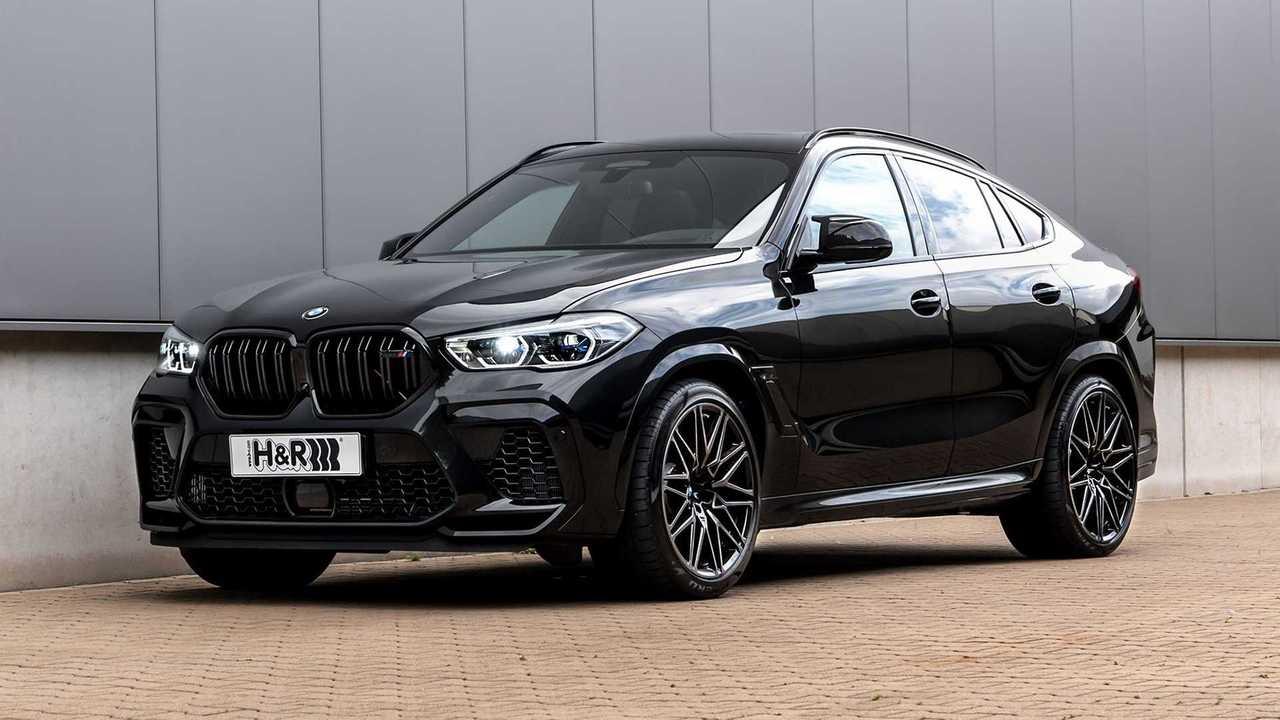 H&R hat Gewindefedern für den BMW X6 entwickelt
