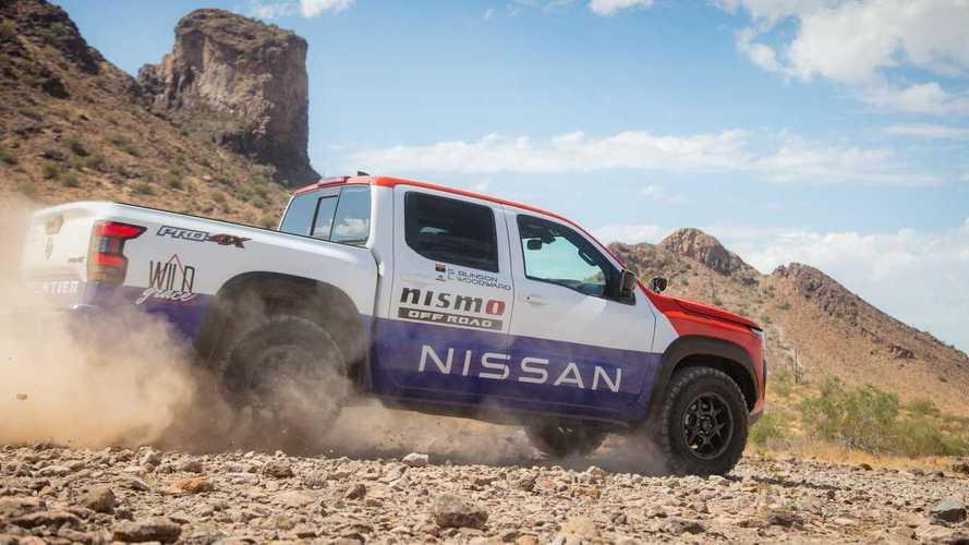 Nissan Frontier для Rebelle Rally
