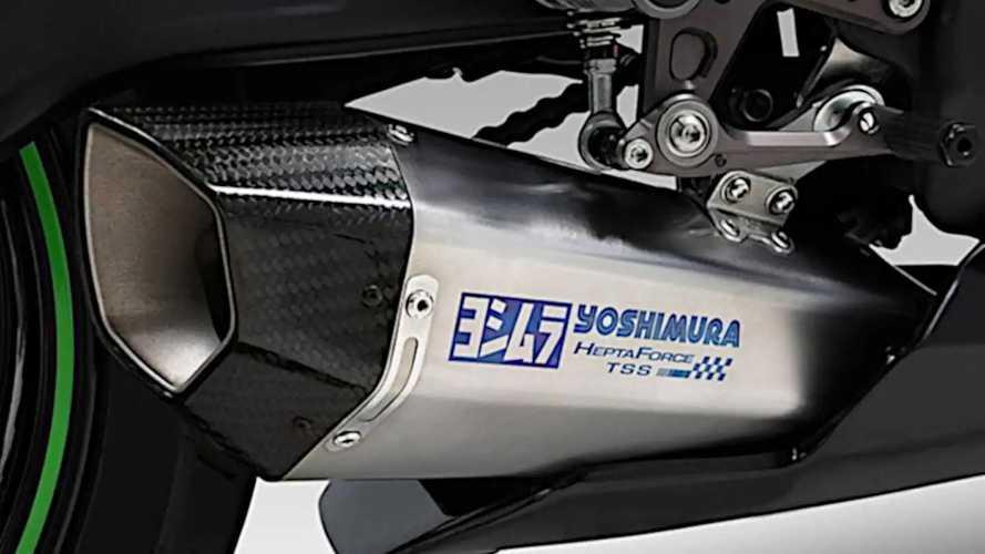 Yoshimura Hepta Force TSS Exhaust for Kawasaki ZX-25R