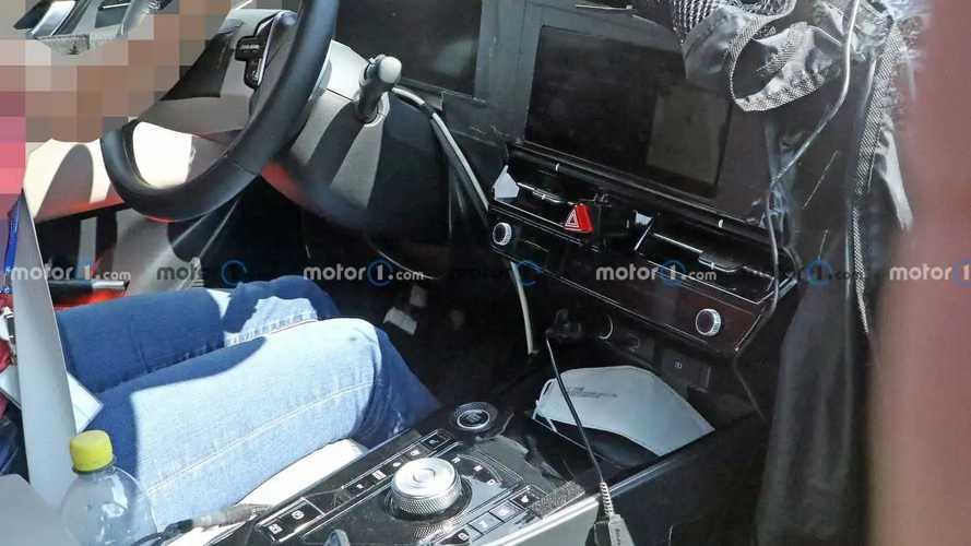 2022 Kia Niro spied inside with all-new dashboard design