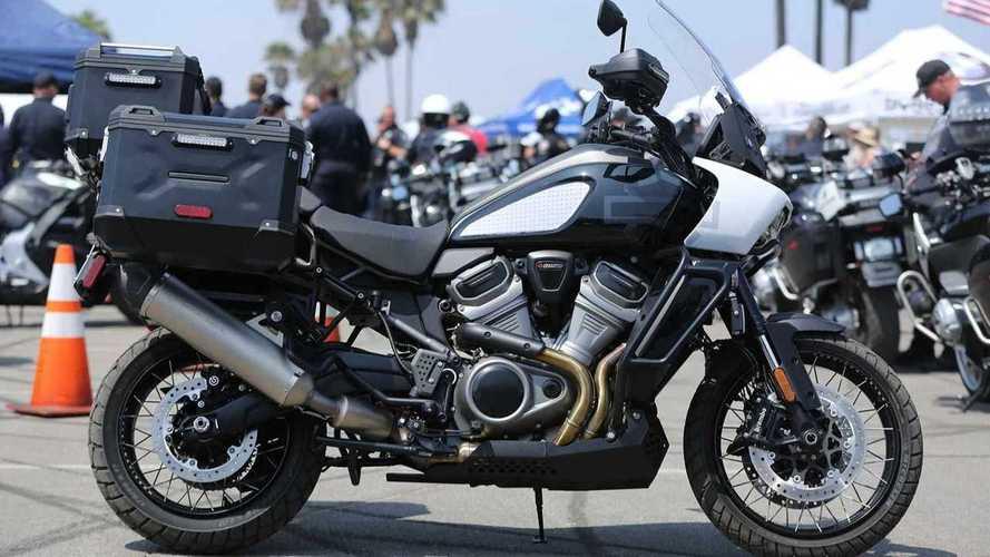 Descubre la Harley-Davidson Pan America Police Concept