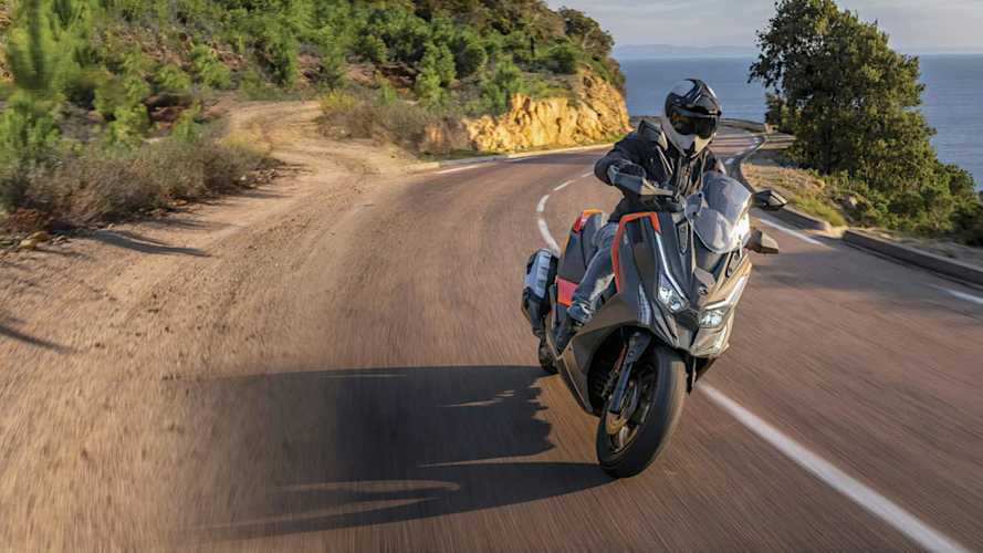 2022 Kymco DTX 125 Adventure Scooter Rolls Out In France
