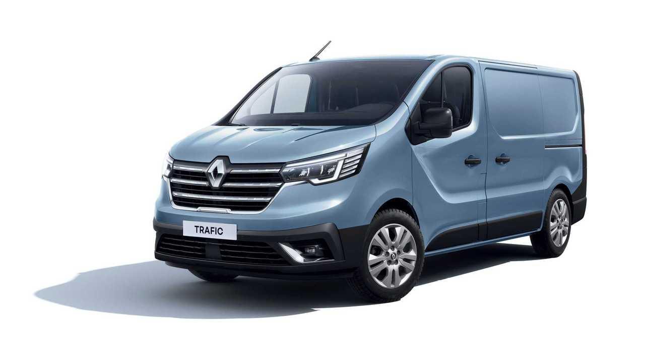 Renault Trafic (2022): Update für das Nutzfahrzeug.