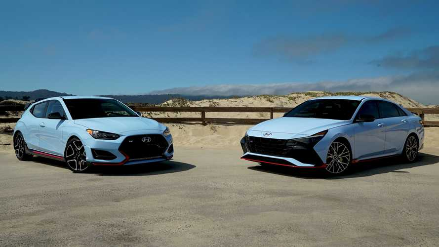 2022 Hyundai Elantra N Vs 2021 Veloster N: See The Differences