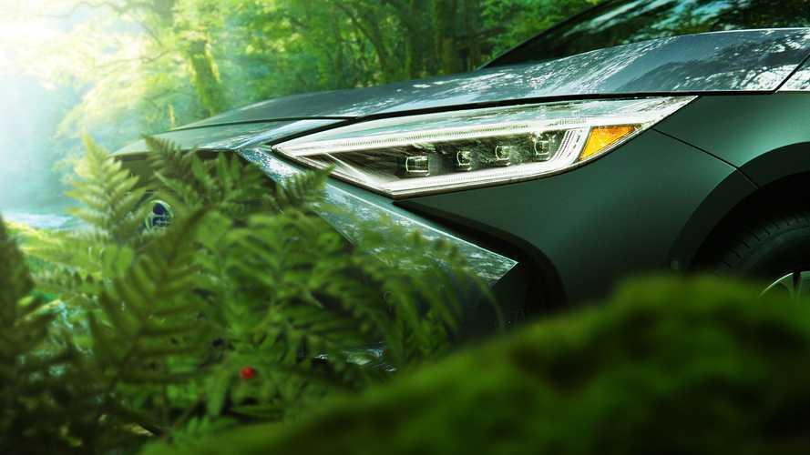 Subaru приоткрыл экстерьер своего электрокроссовера