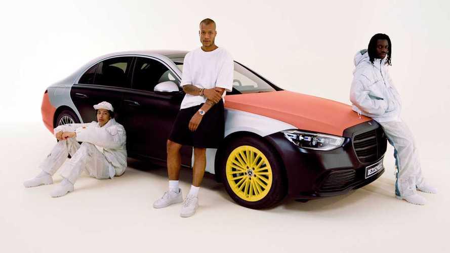 Mercedes'ten hava yastıklı çılgın bir proje!