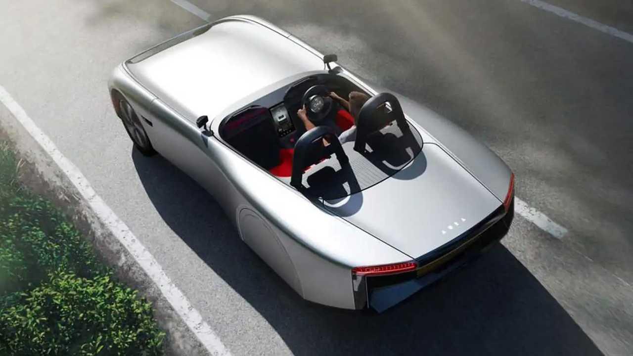 Aura electric sports roadster