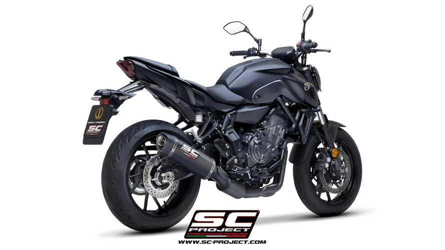 SC Project Releases SC1-S Full-System For 2021 Yamaha MT-07