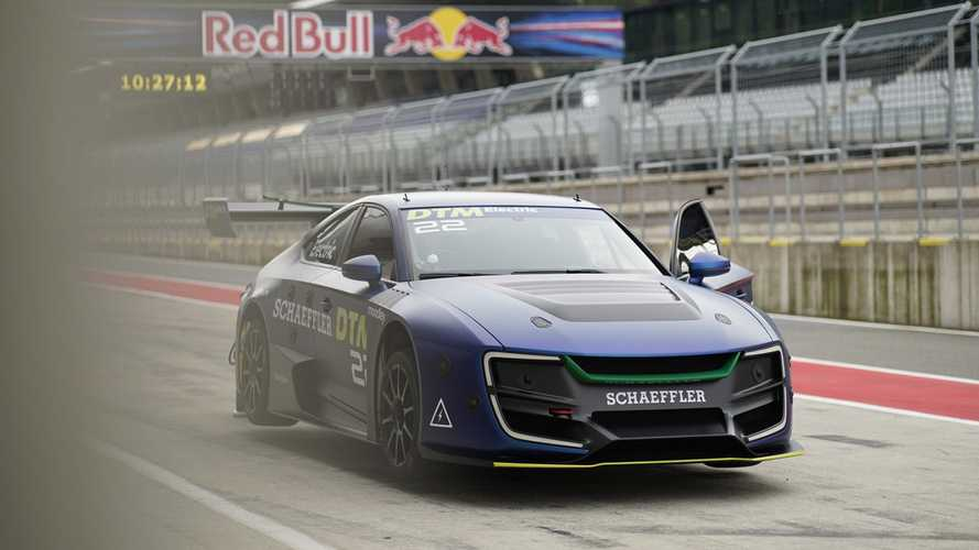 DTM's electric car to complete 'driverless' demo run in Austria